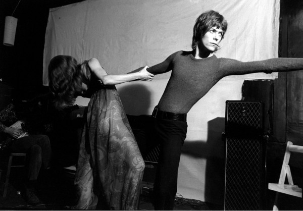 Mandatory Credit: Photo by Ray Stevenson / Rex Features ( 563052D ) Turquoise - Hermione Farthingale and David Bowie DAVID BOWIE AND TURQUOISE, LONDON, BRITAIN - 1968