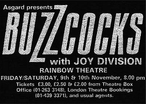 buzzcocks joy division