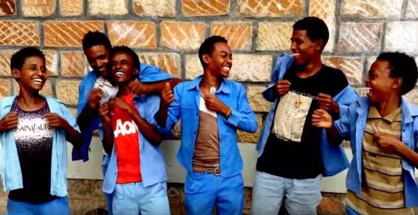 estudantes etiopia