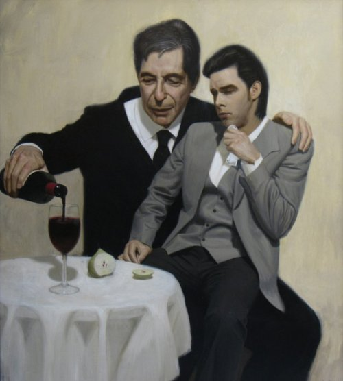 Leonard Cohen consola Nick Cave. Por Ben Smith